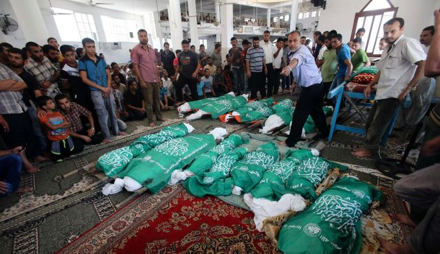 25 Civilians Killed in Gaza in Attack on a Single House