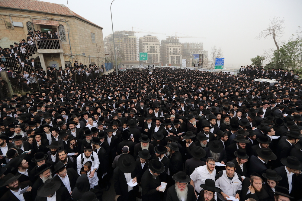 Haredim Protesting in Jerusalem