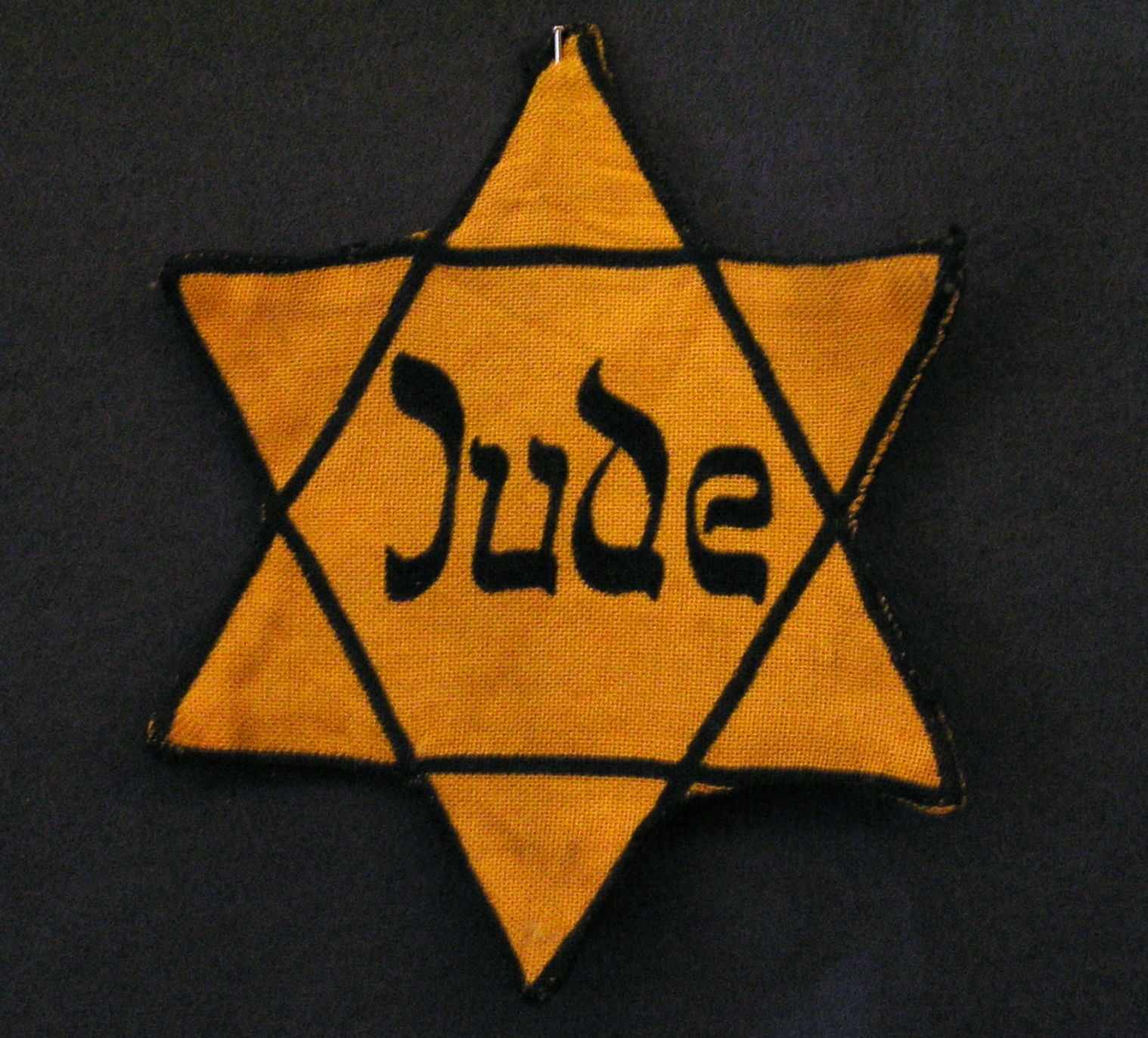 Jewish Antisemitic Badge